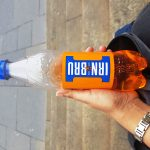 Irn Bru, #fromthecornertable, from the corner table