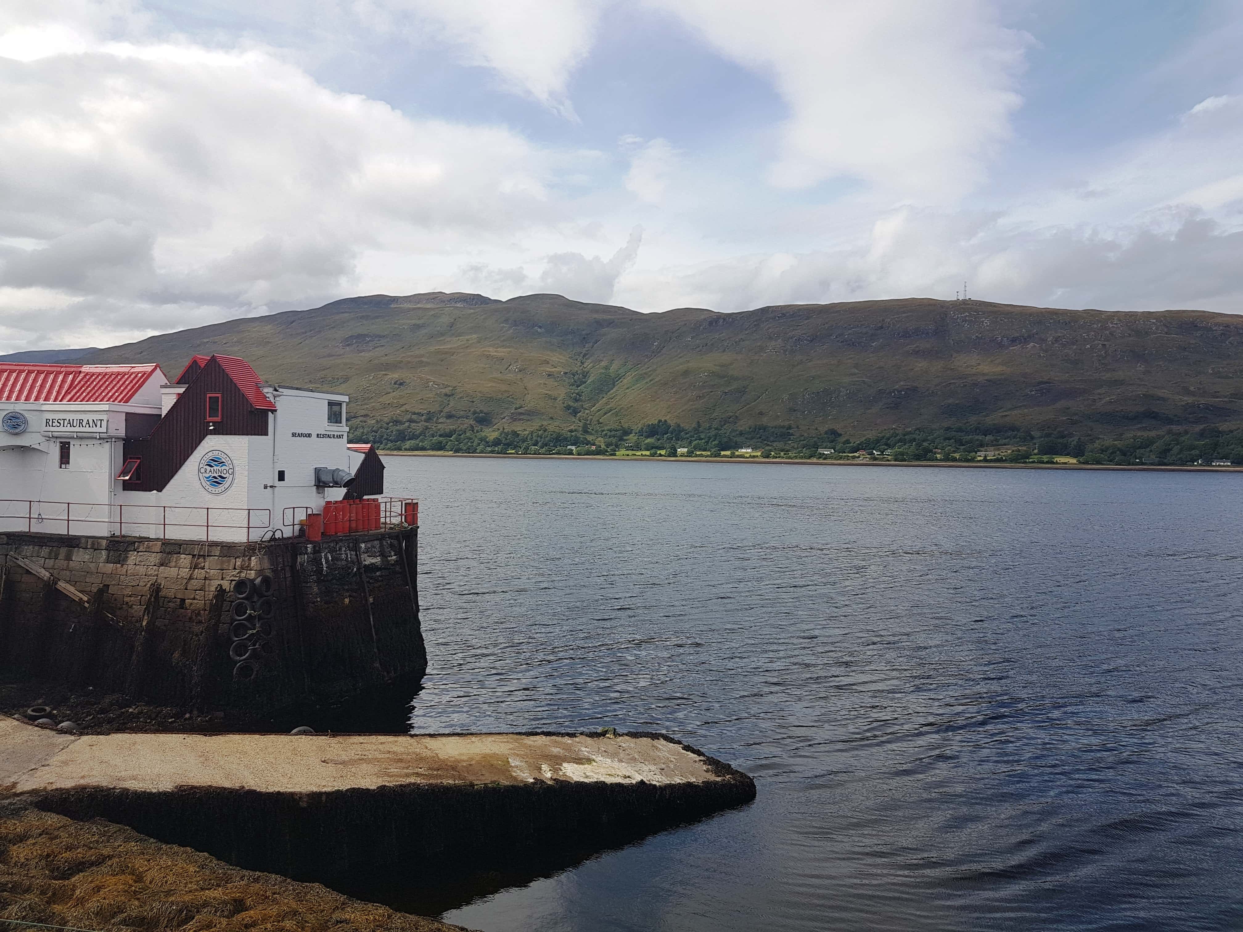 Fort William, from the corner table, #fromthecornertable