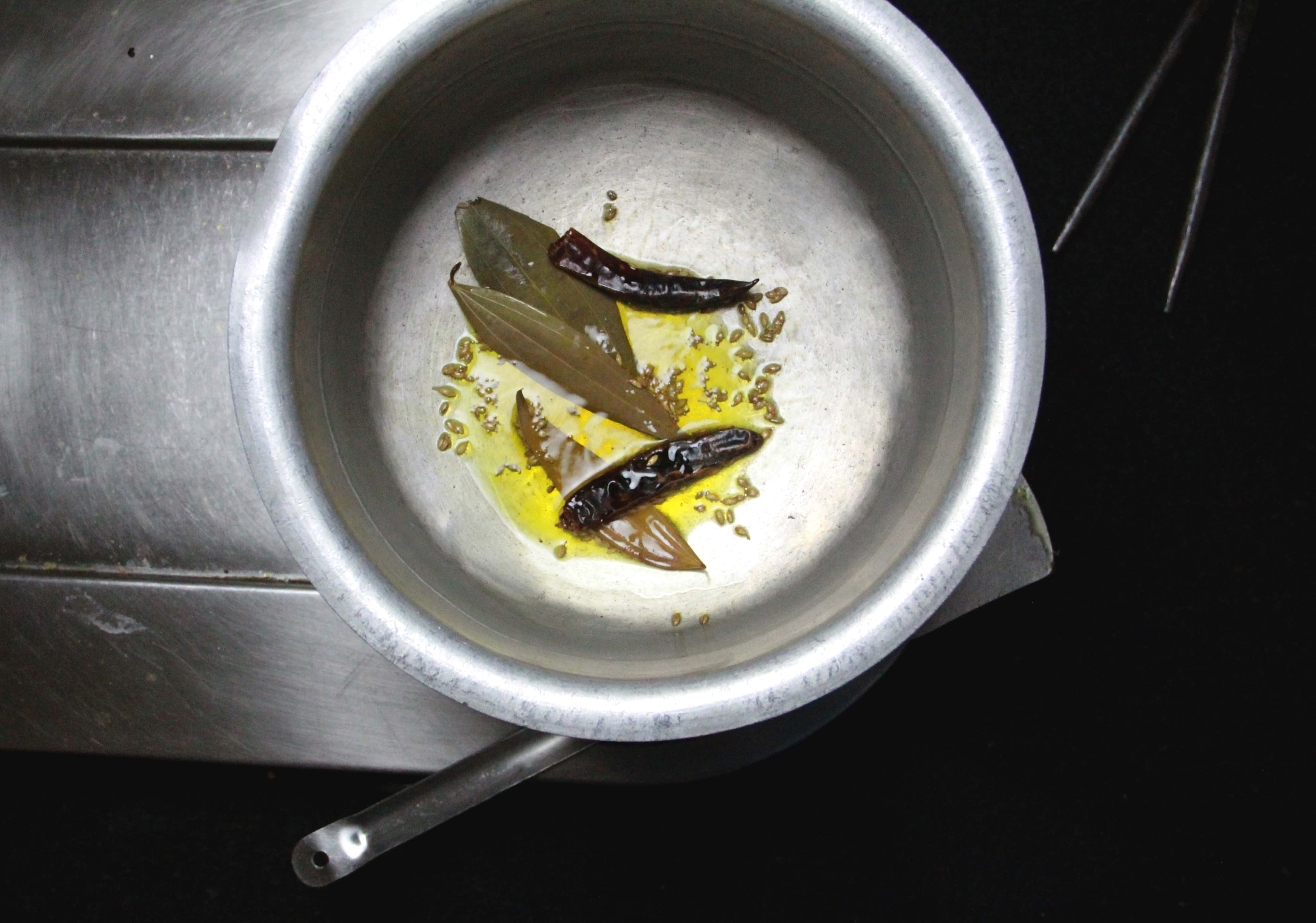 Cooking process of Khichuri, #fromthecornertable