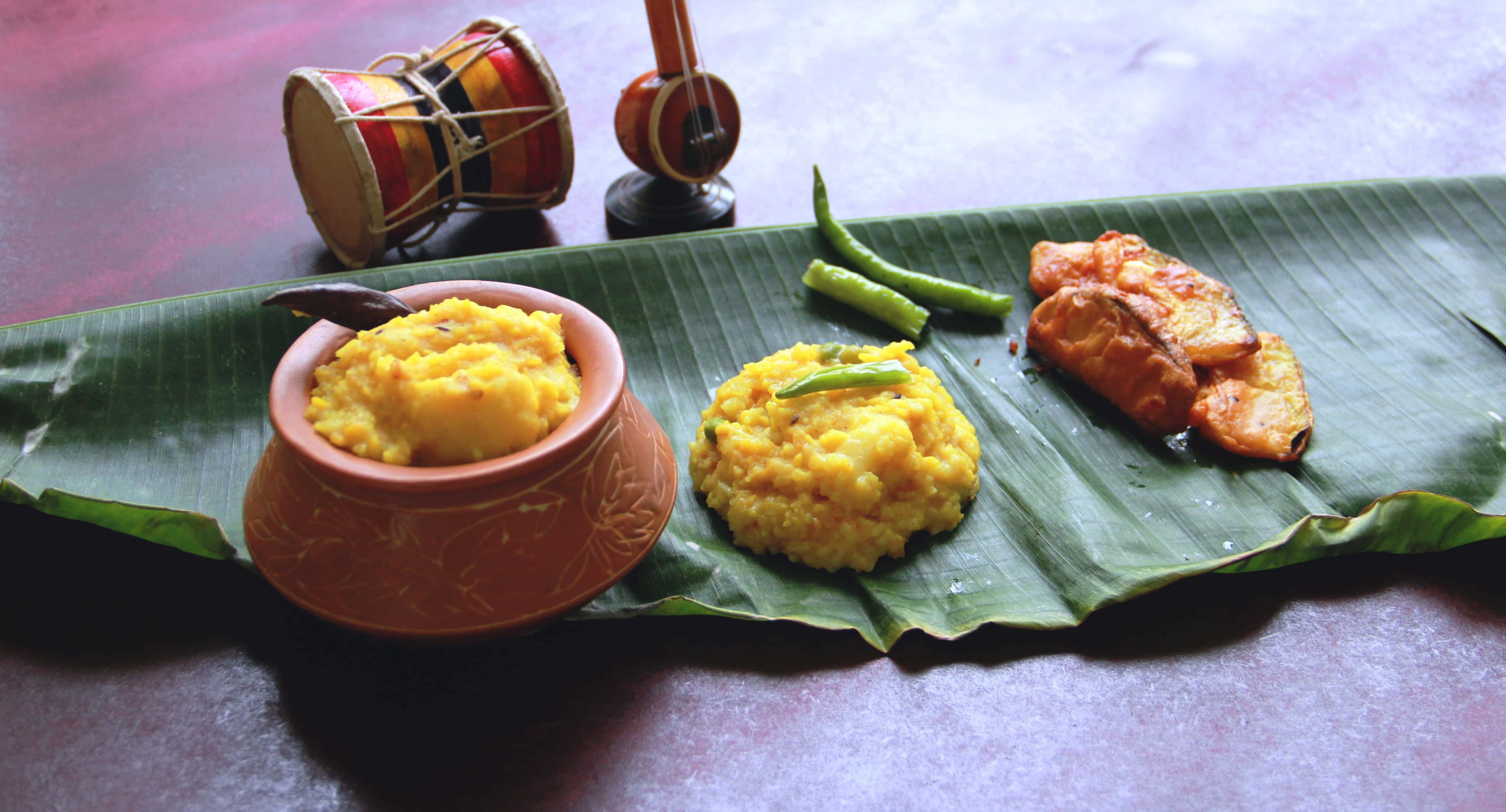 Khichuri, a bengali delicacy, #fromthecornertable