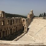 Odeon of Herodes Atticus, from the corner table, #fromthecornertable