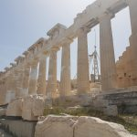 Parthenon, from the corner table, #fromthecornertable