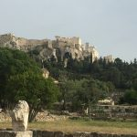 Athens Agora, from the corner table, #fromthecornertable