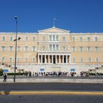 Hellenic Parliament, from the corner table, #fromthecornertable