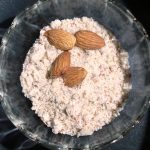 Water chestnut halva, from the corner table, #fromthecornertable