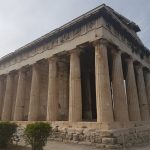 Temple of Hephaestus, Agora , from the corner table, #fromthecornertable