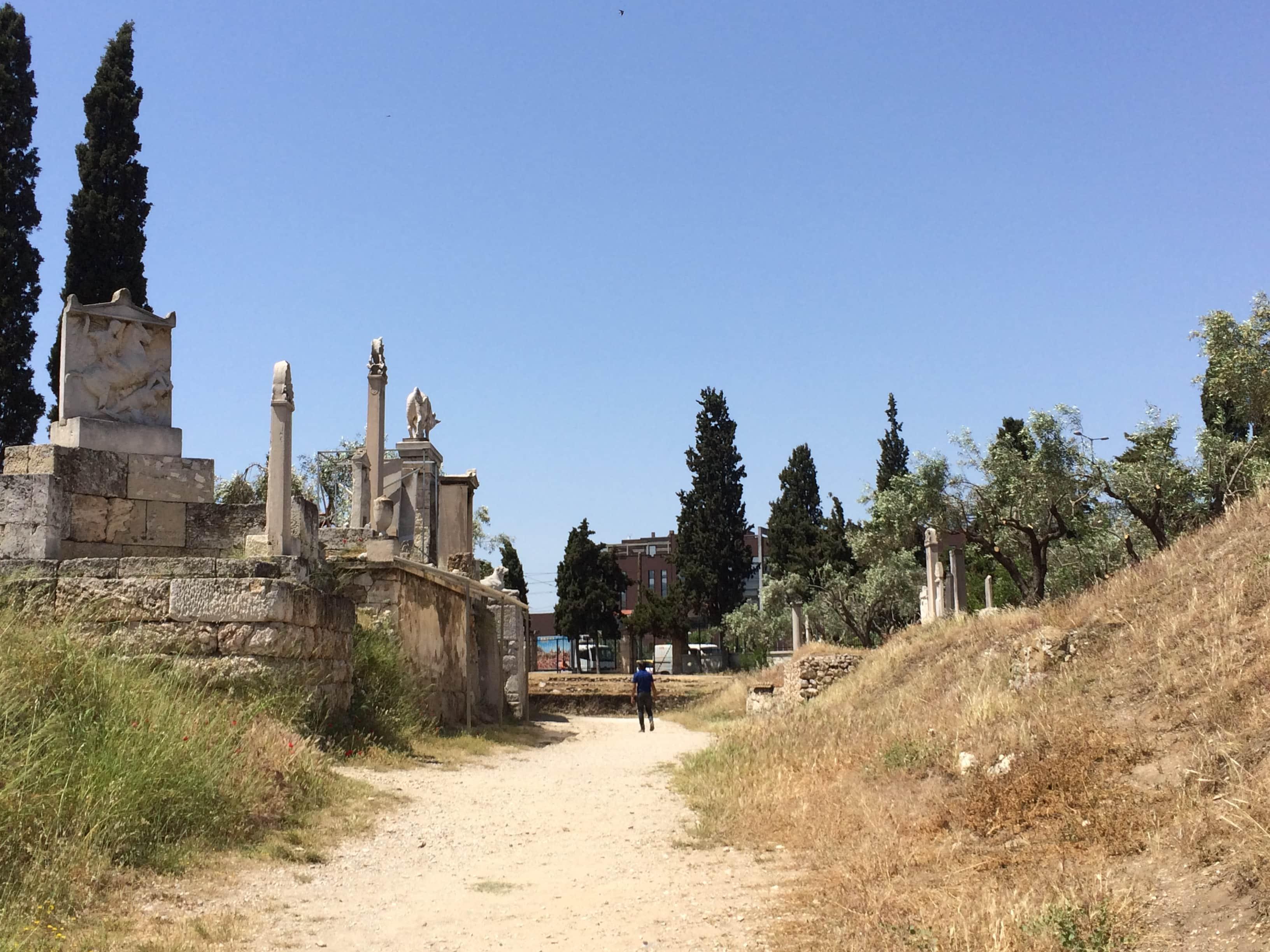 The Street of Tombs, Kerameikos,