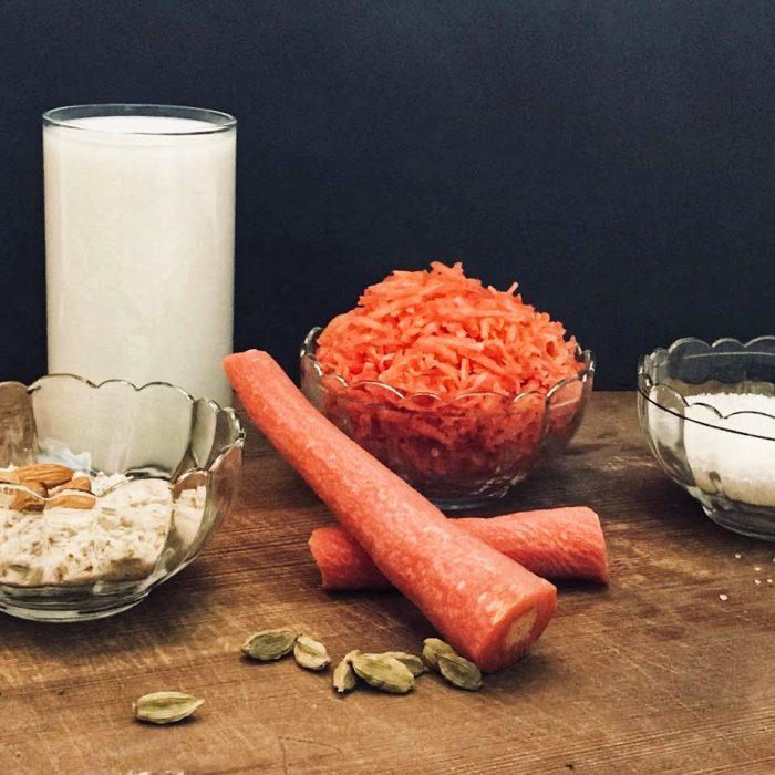 Gaajar ka Kheer Ingredients, from the corner table, #fromthecornertable