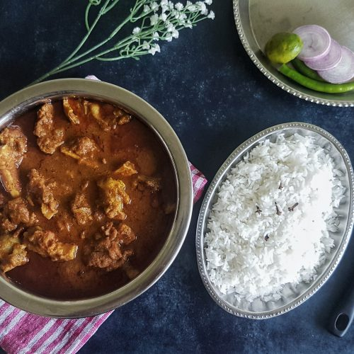 Maangsho Jhol (Bengali Mutton Curry), from the corner table, #fromthecornertable