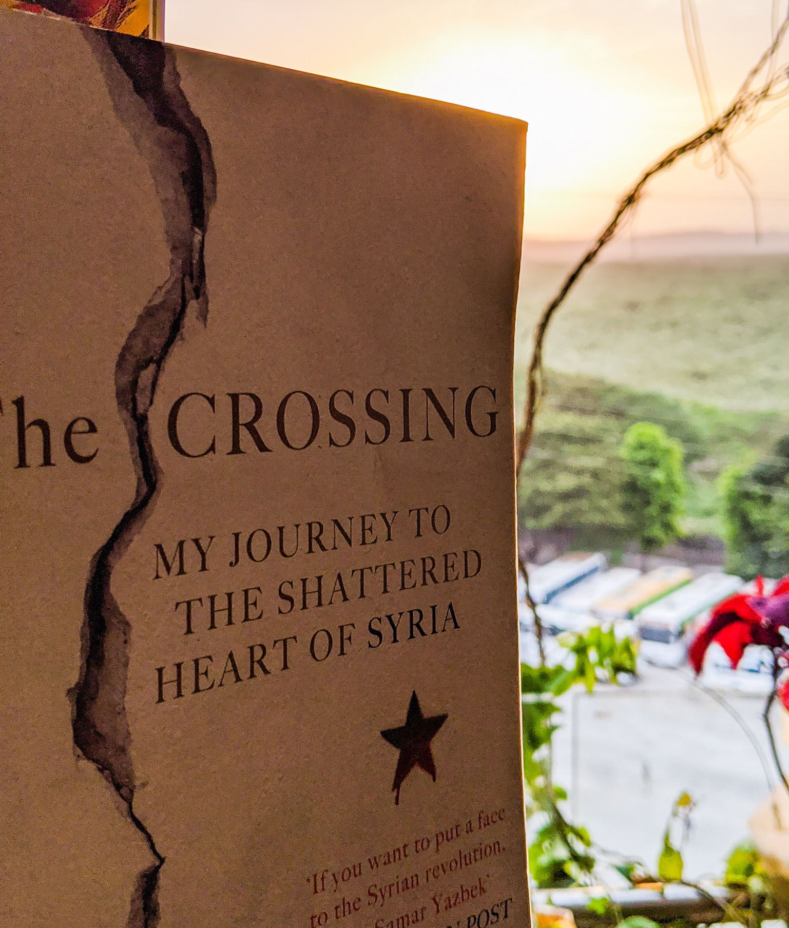 The Crossing | Copyright Image on From The Corner Table